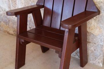 ריהוט  6 – כסא מקושת