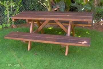 ריהוט 13 – שולחן פיקניק