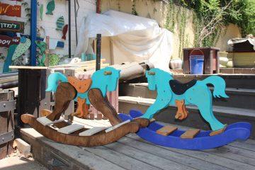 סוסים דוהרים בסיום הסדנה